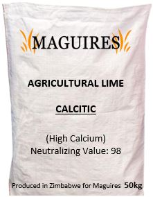 Calcitic Agricultural Lime